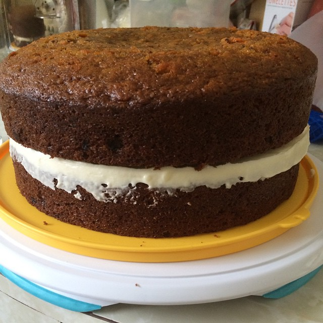 Giant whoopie pie, because why not?