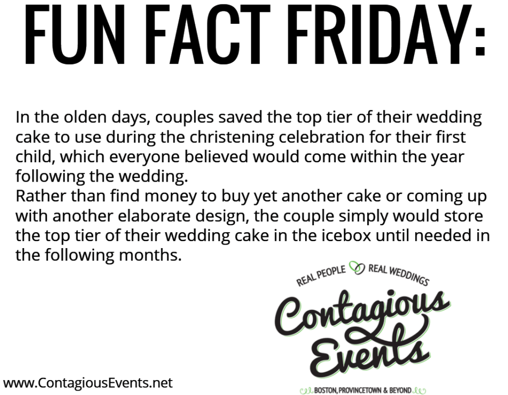 Fun Fact Friday Contagious Events Weddings In Boston Wedding 432