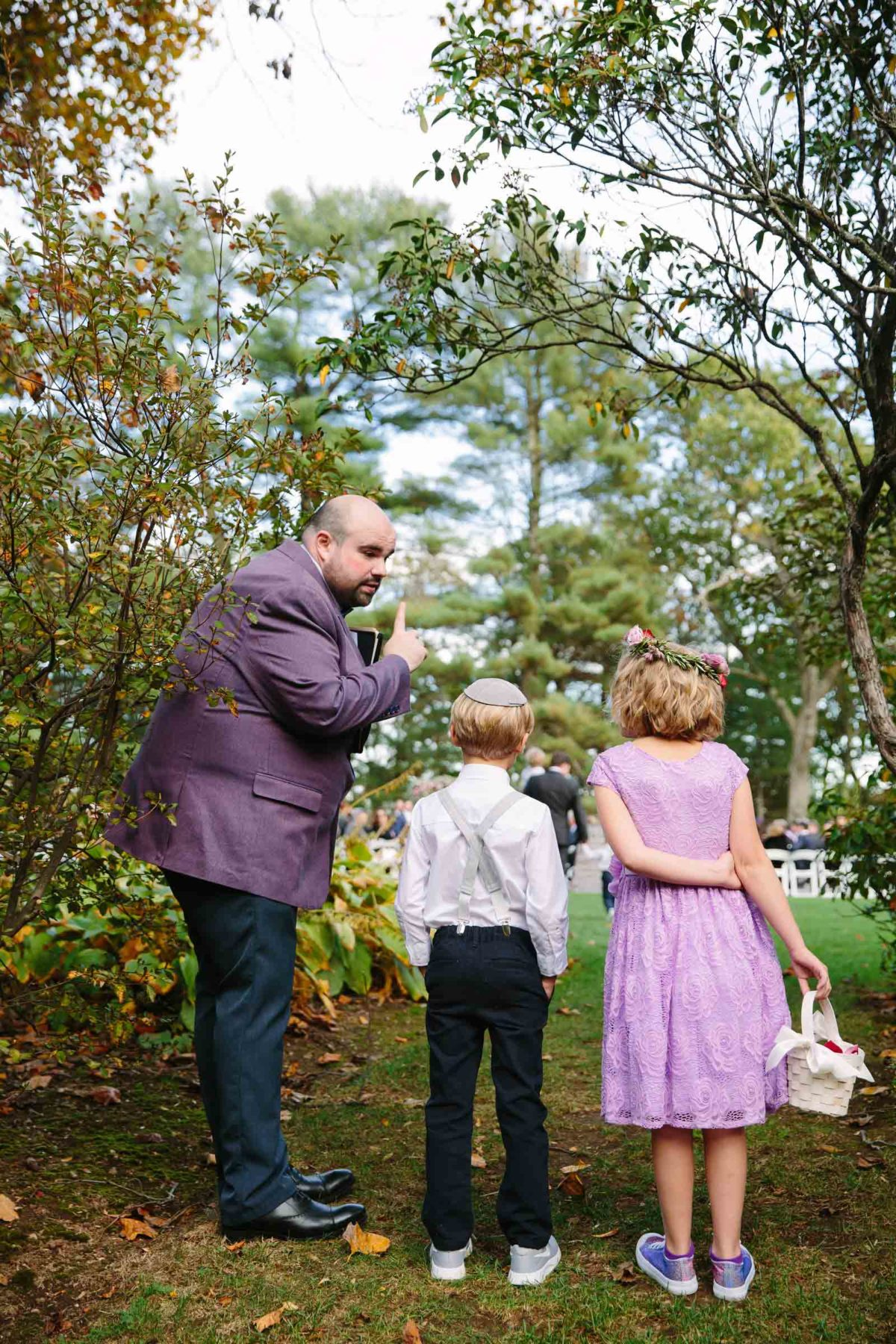 Wedding Planning Telling Ring Bearer & Flower Girl when to Walk Down the Aisle