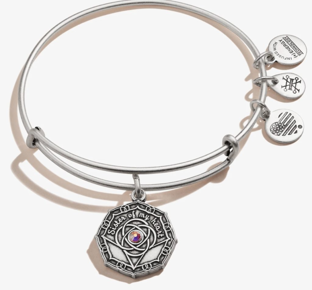 Purchase Alex and Ani bridesmaid bracelet here